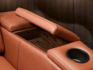 installateur home cinéma : fauteuil simple accoudoir rangement